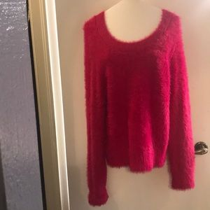 Lou and Grey Hot pink NWT sweater size Small
